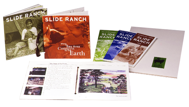 Slide Ranch print collateral pieces