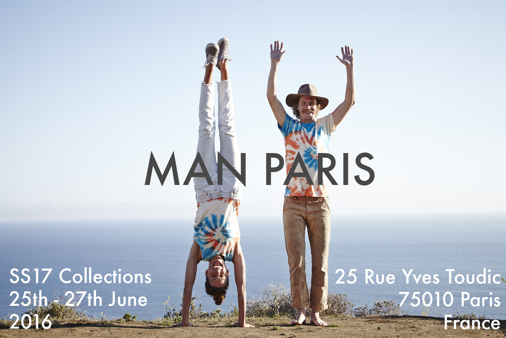 We're off to Paris again... Very happy to say we will be showing off the SS17 collections from Jungmaven, Manastash and Stan Ray at the wonderful MAN show in Paris.  If you are in the beautiful city between 25th and 27th June 2016 come and say hello.