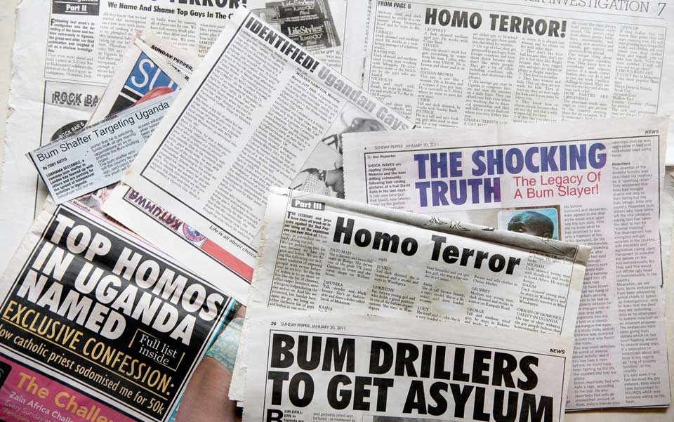 Newspapers in Uganda have been used out LGBTI Ugandans. Photo Wikimedia.