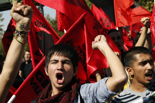 Anti-Government Protest, Ankara, Turkey: Photo by Kerem