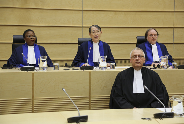 New Deputy Prosecutor James Stewart Sworn in by the International Criminal Court ICC, Photo Courtesy of ICC