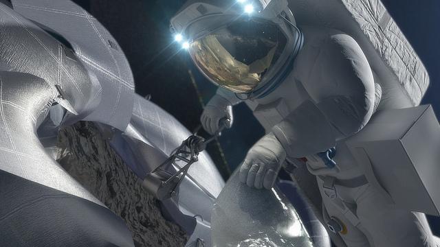 NASA Orion Space Craft Capturing Device, Photo Courtesy of NASA