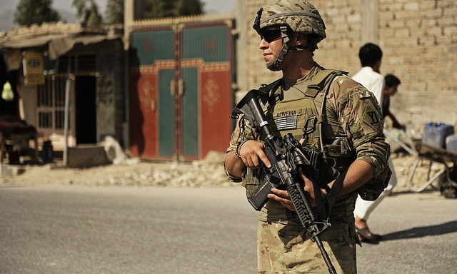 U.S. Soldier in Afghanistan, Courtesy of the U.S. Army