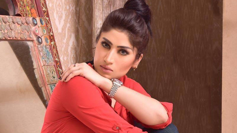 """Qandeel Baloch, from her official Facebook Page: """"As women we must stand up for ourselves....As women we must stand up for each other....As women we must stand up for justice."""""""