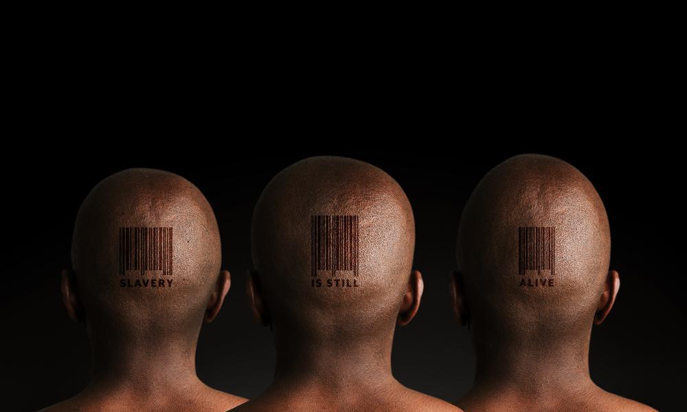 Slavery is Still Alive, by Shutterstock