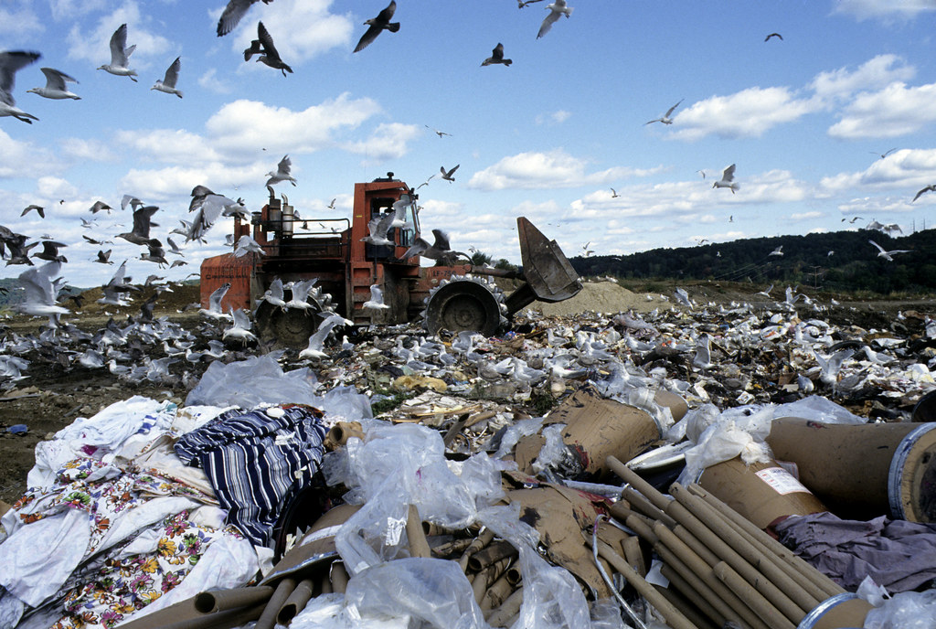 Landfill in Danbury, Connecticut, by United Nations Photos