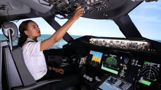 Amsale Gualu is Ethiopian Airlines' First Female Captain