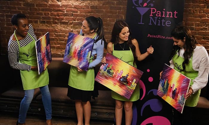 PAINT NIGHT - Every other Thursday! So book your spot, grab your friends, girlfriends, boyfriends, family or work team and paint a pretty picture together that you will get to keep afterwards! Don't know how to draw? Not a problem! We will walk you through it and help you unleash your inner artist! O! And you can also drink while you're doing it!