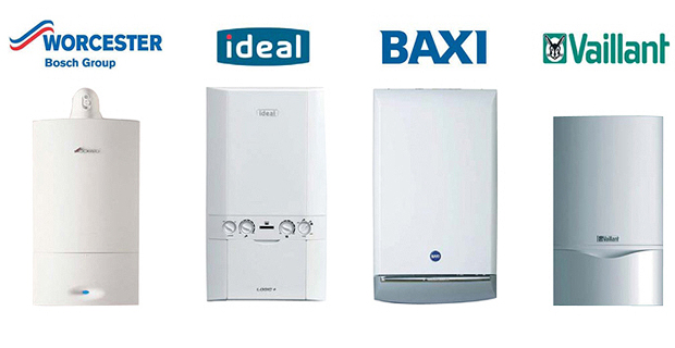Vaillant, Ideal, Baxi and Worcester boiler