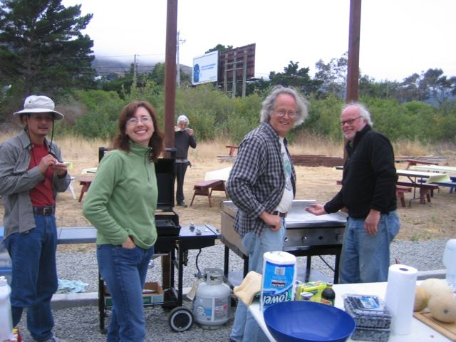 FIRST - pancake breakfast at MBN - August 2009