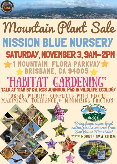 MBN Plant Sale Nov 3 2018-Habitat Gardening.png