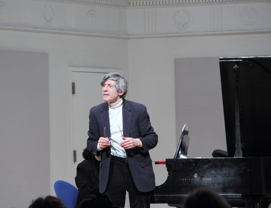 David Holzman, piano