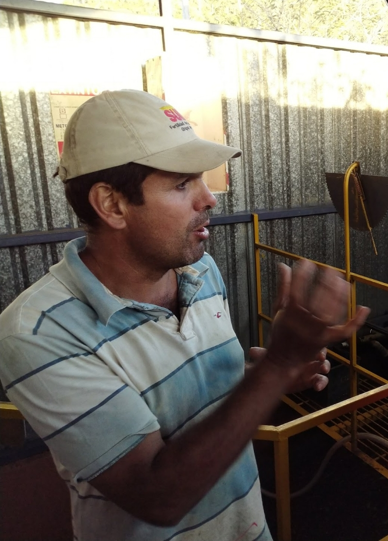 Luis Alberto Monge Urena. One of Costa Rica's most respected coffee producers.
