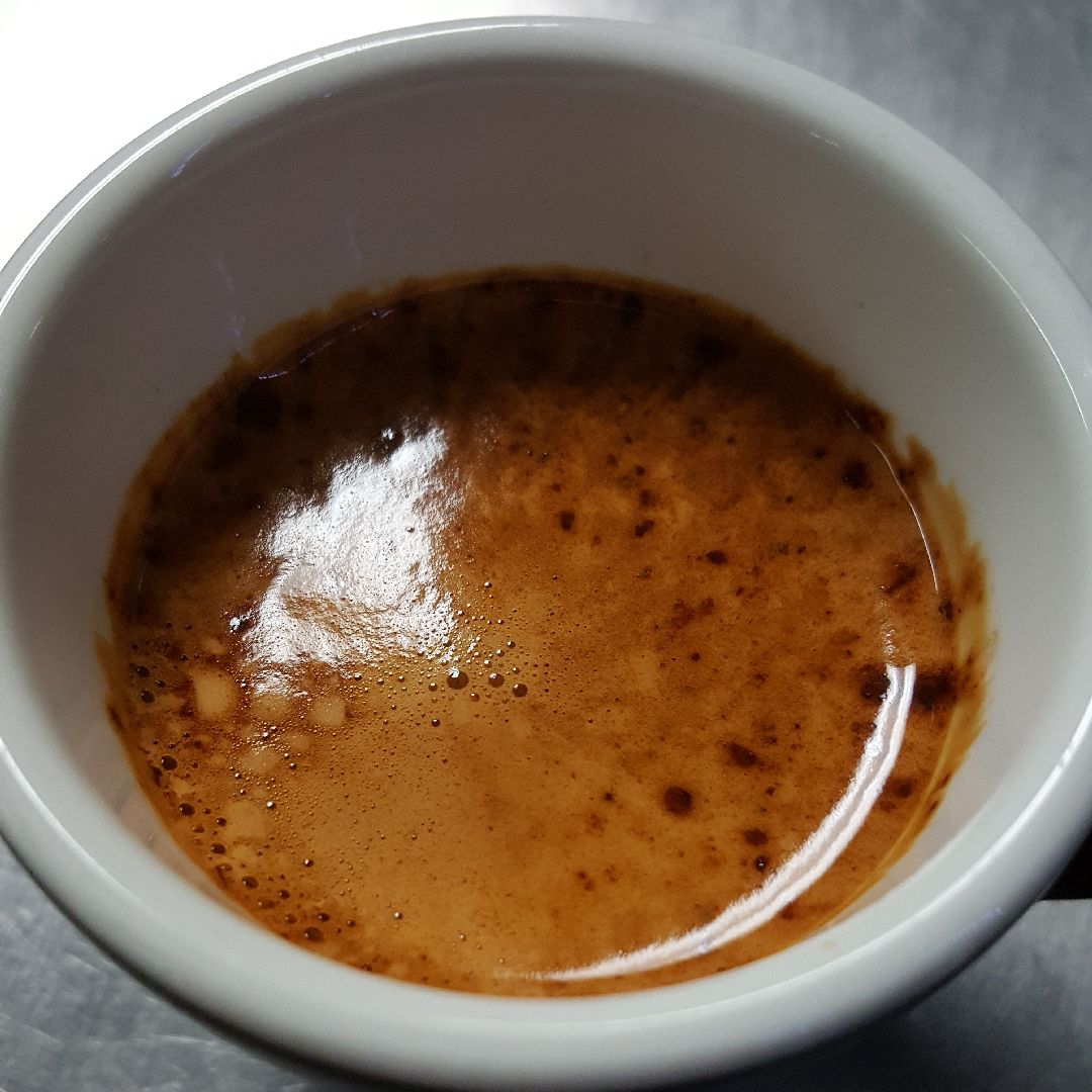 Espresso   Sweet. Intense. World-class espresso needs nothing added to coat your tongue with a sweet, syrupy viscosity.