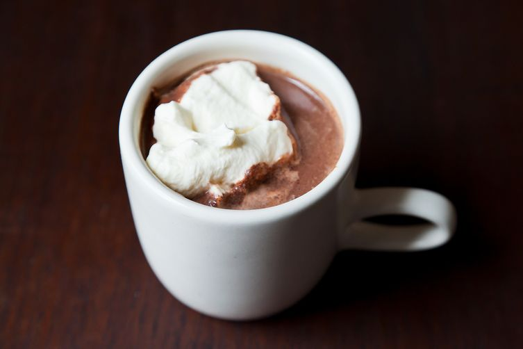 Hot Chocolate   Steamed Milk + Housemade Organic Chocolate. Warm, sweet. Enveloping. Great for those crisp Autumn morinings.