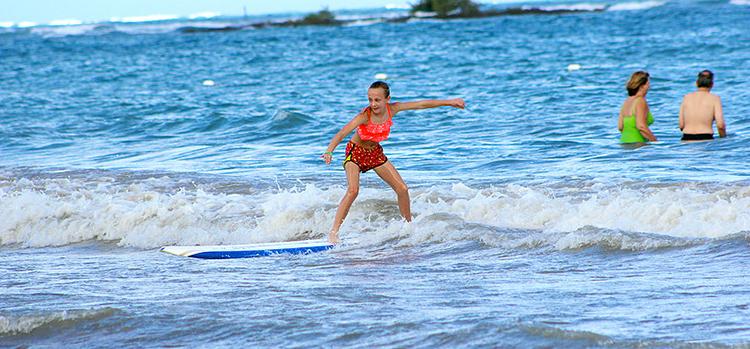 Photo credit:  WOW Surfing School