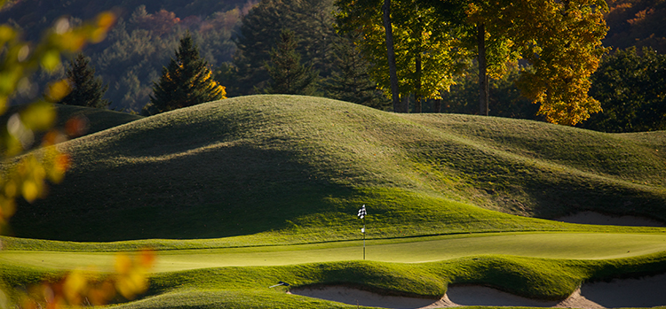 Okemo Valley Golf Club. Courtesy of Okemo Mountain Resort.