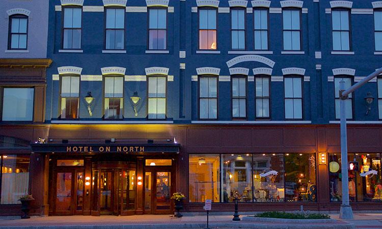 Photo: Hotel on North