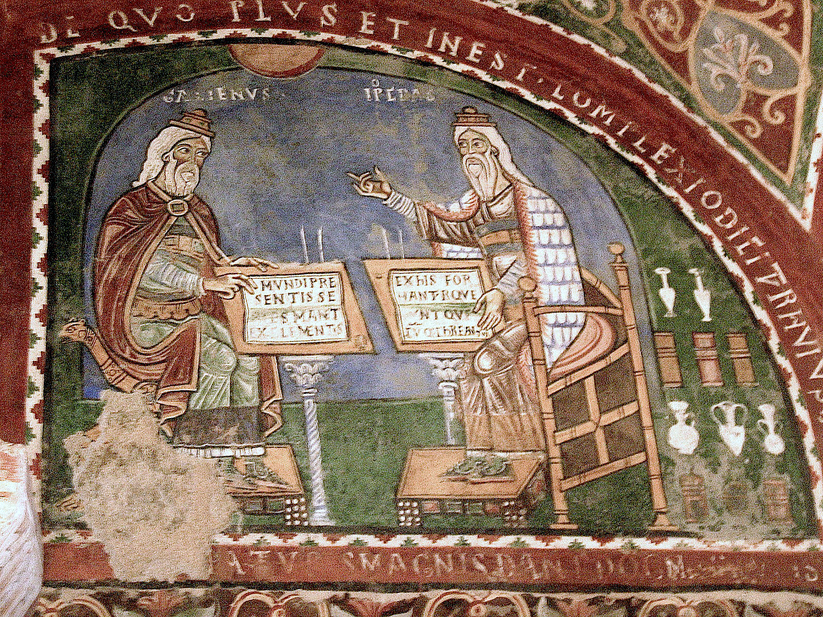 Galen and Hippocrates... photo from  Nina Aldin Thune  via wikimedia commons.