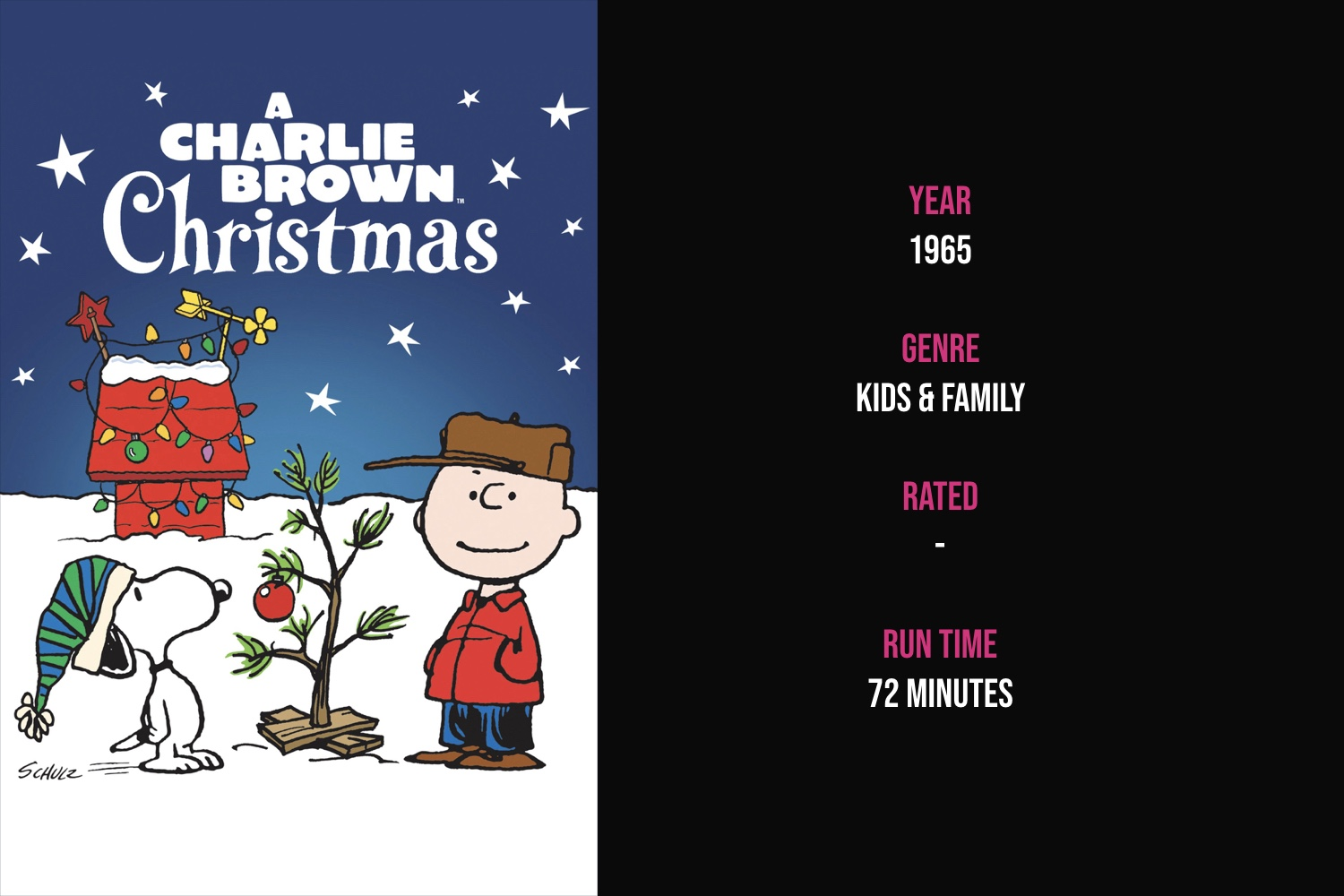 A Charlie Brown Christmas - Depressed over the commercialization of Christmas and his inability to understand what Christmas is about, Charlie Brown directs a holiday play and ultimately changes his mood.iTunes | Amazon