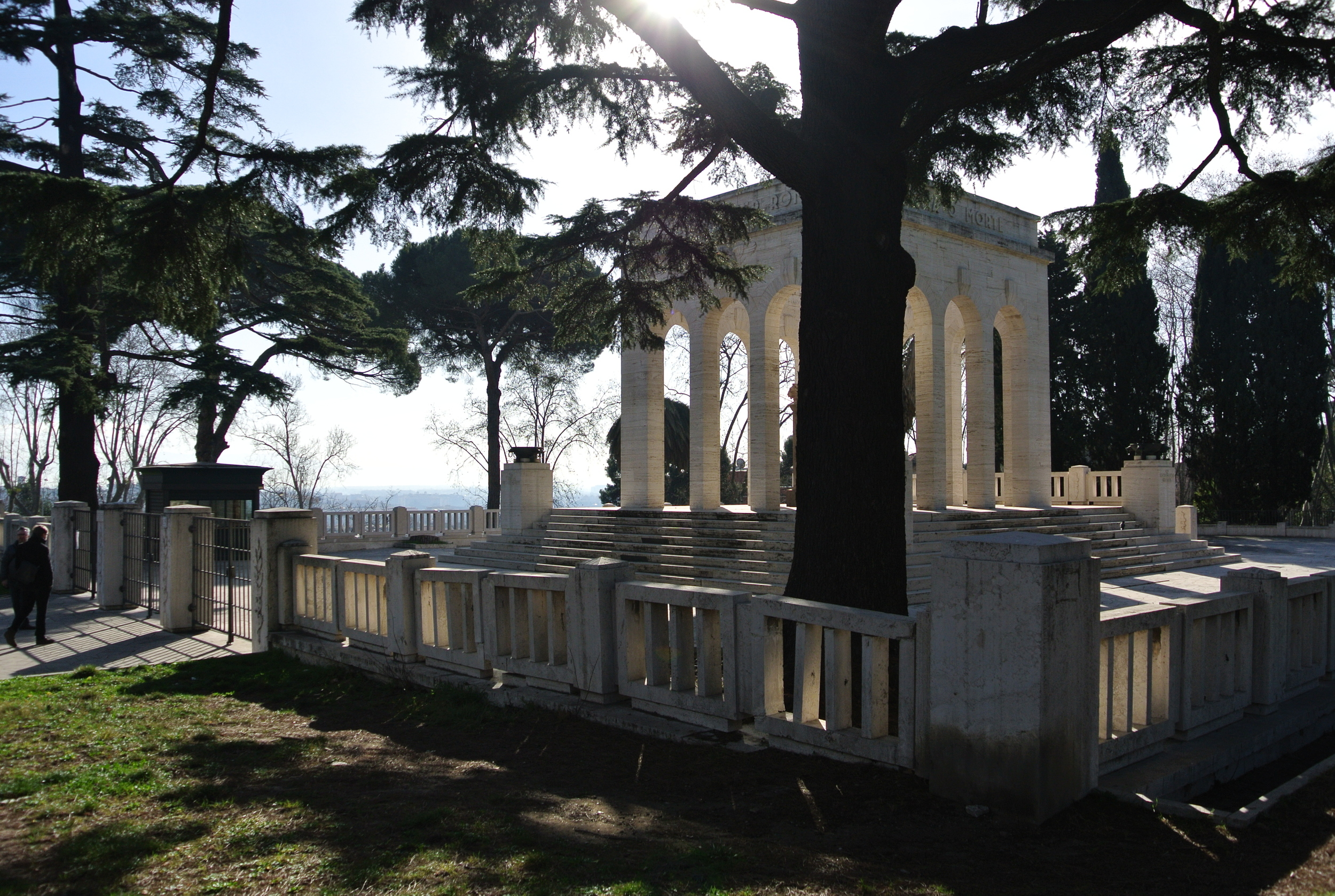 Gianicolense Mausoleum Monument