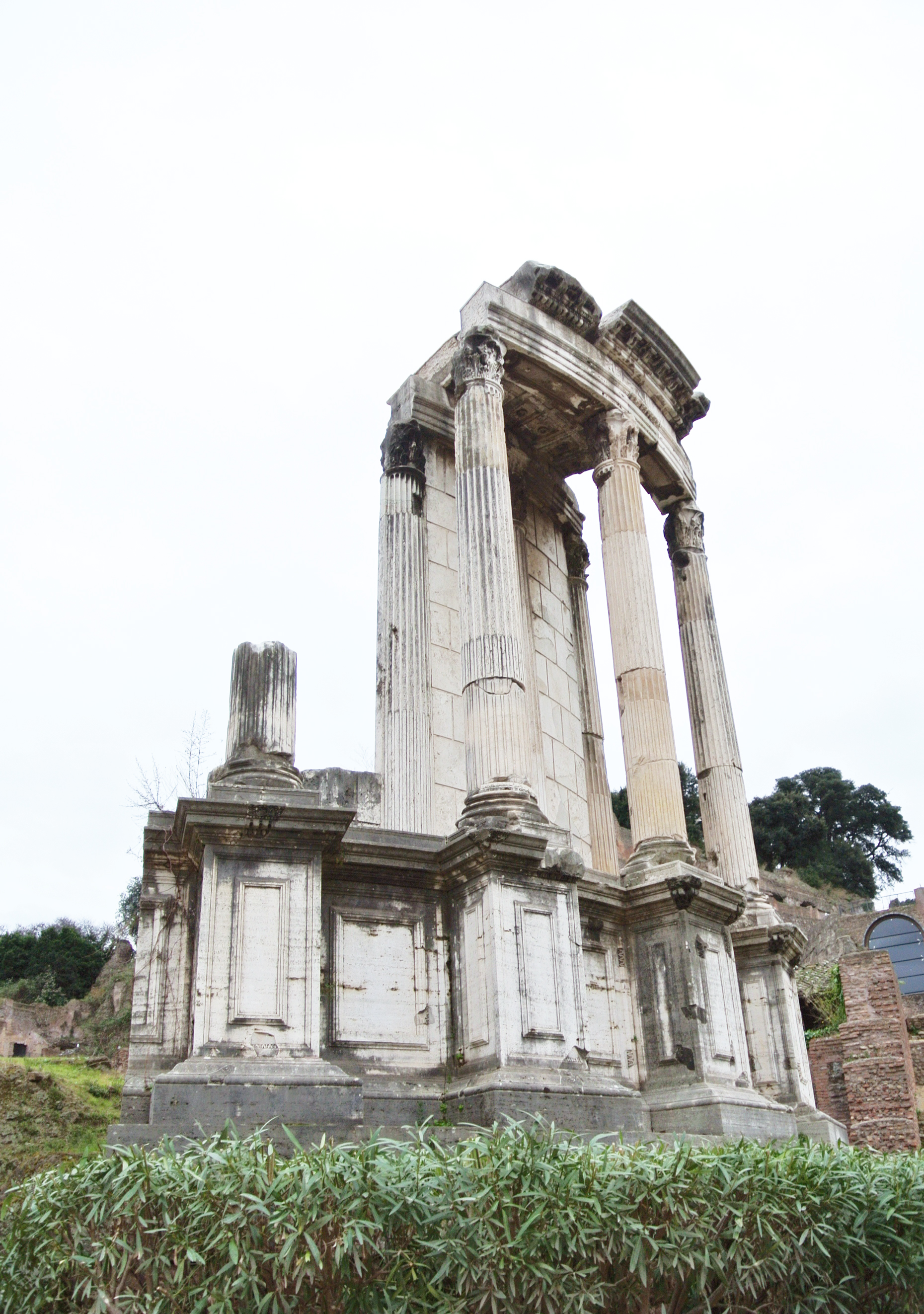 Temple of Vesta / Roman Forum