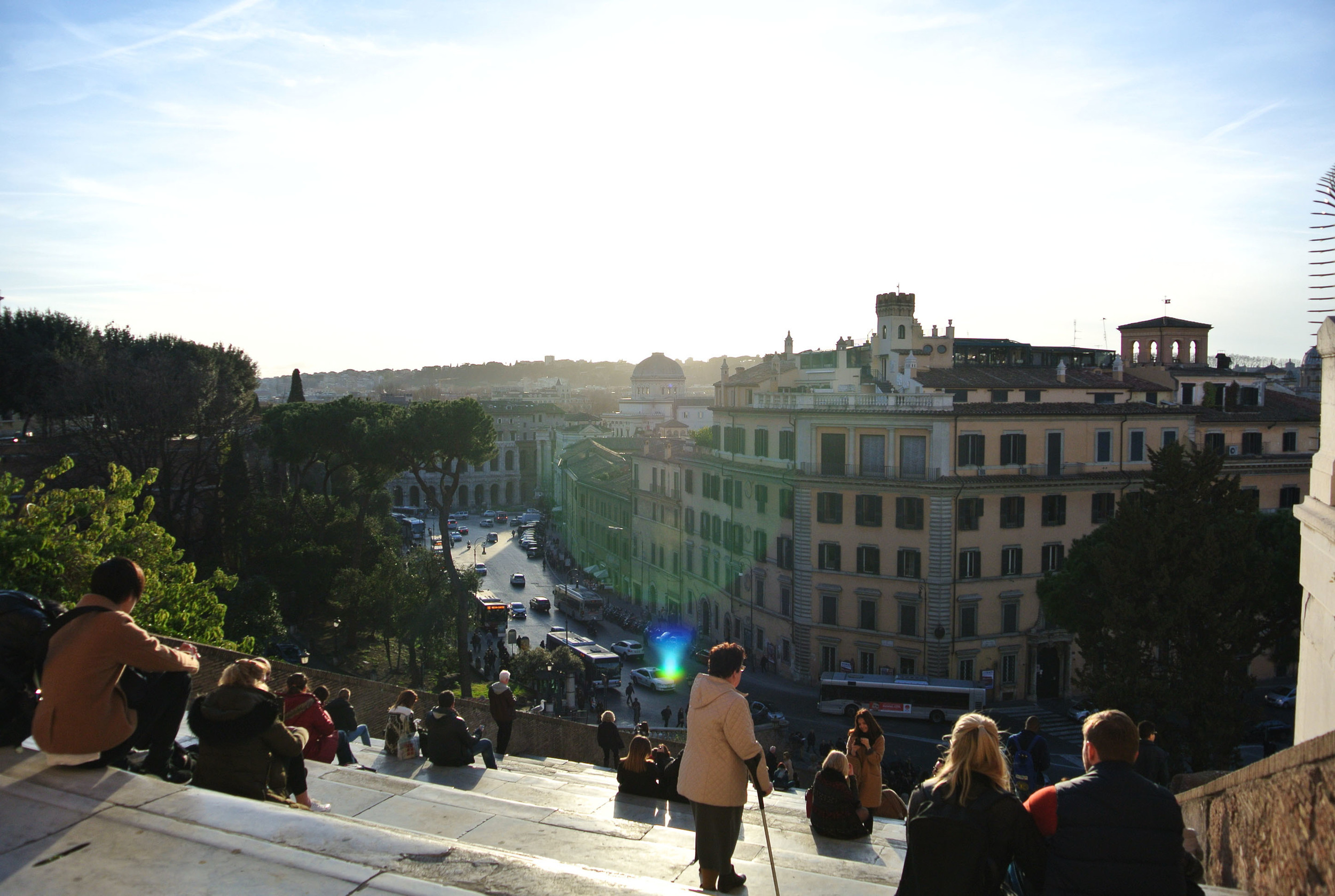 View from Campidoglio