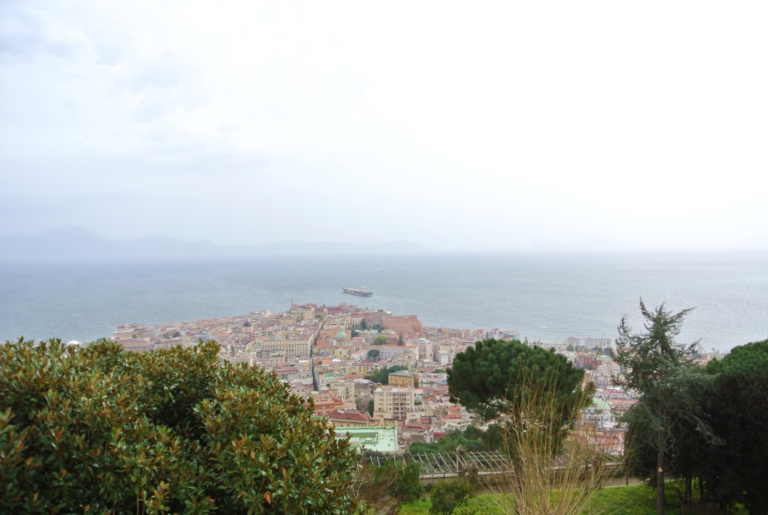 View from Castel Sant'Elmo
