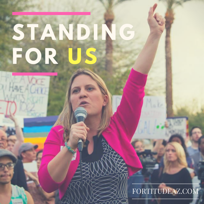 Standing For Us