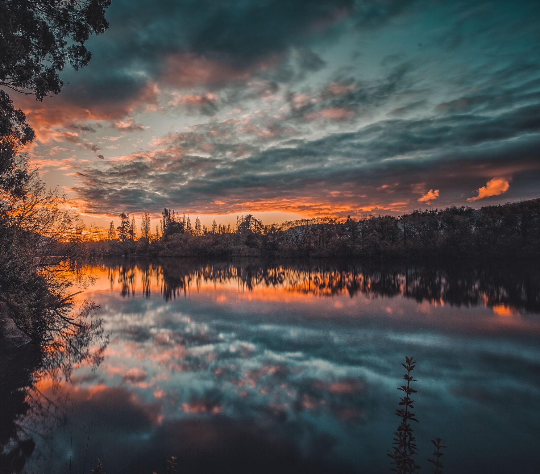New Norfolk Sunset
