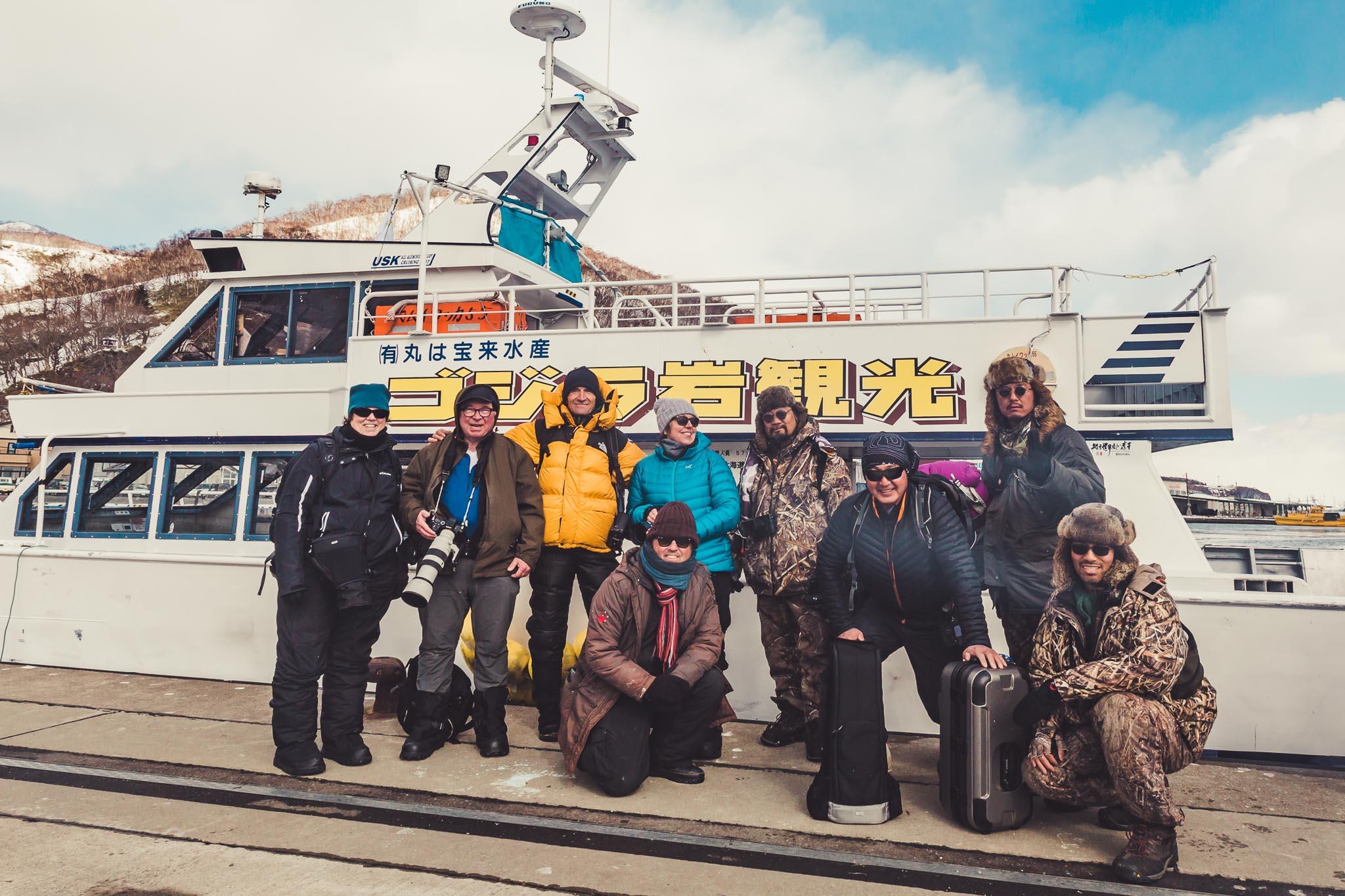 Sea Eagle Cruise Rausu