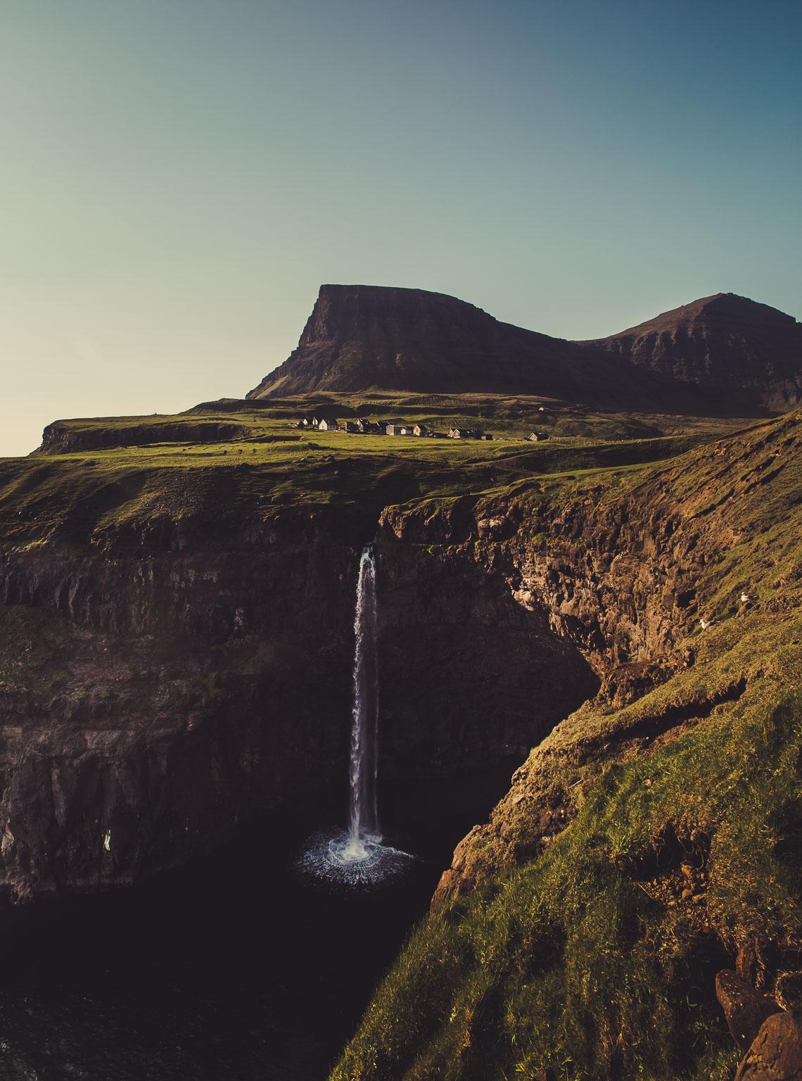 Mulafossur Waterfall