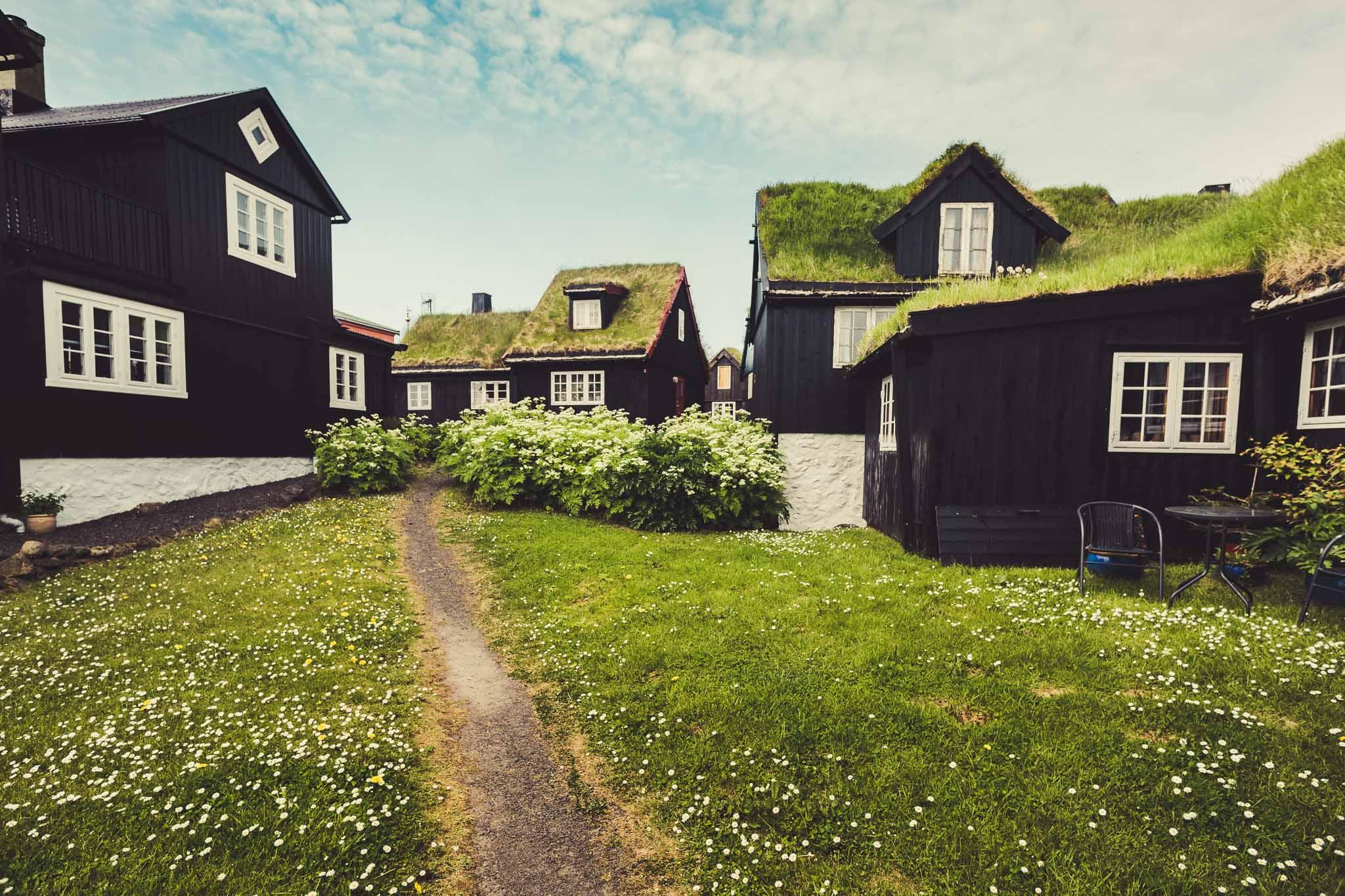 Torshavn Turf Houses