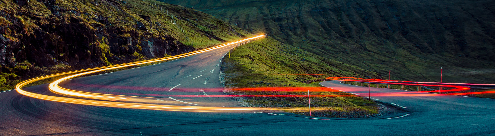 Funingur at midnight, Faroe