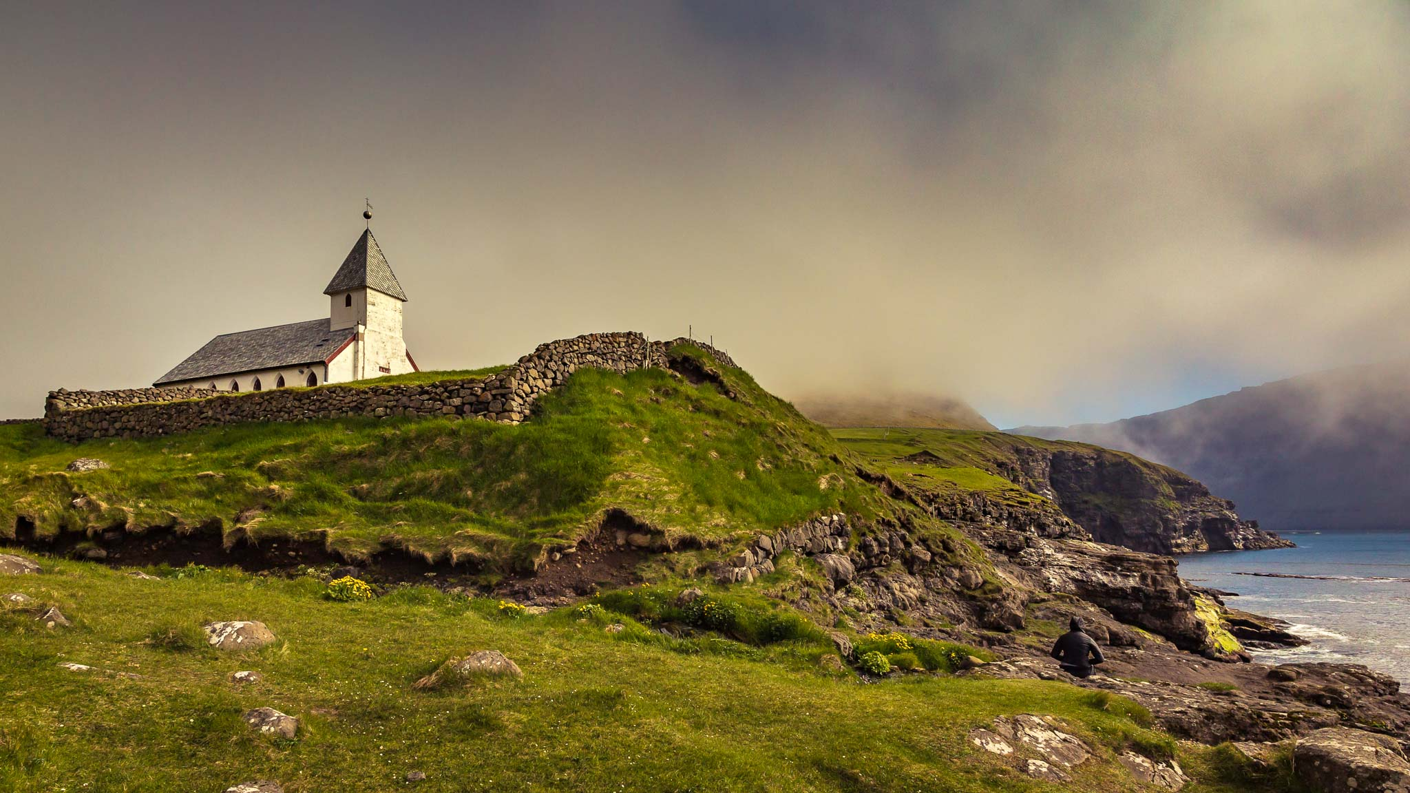 Vidareidi Church, Faroe Islands