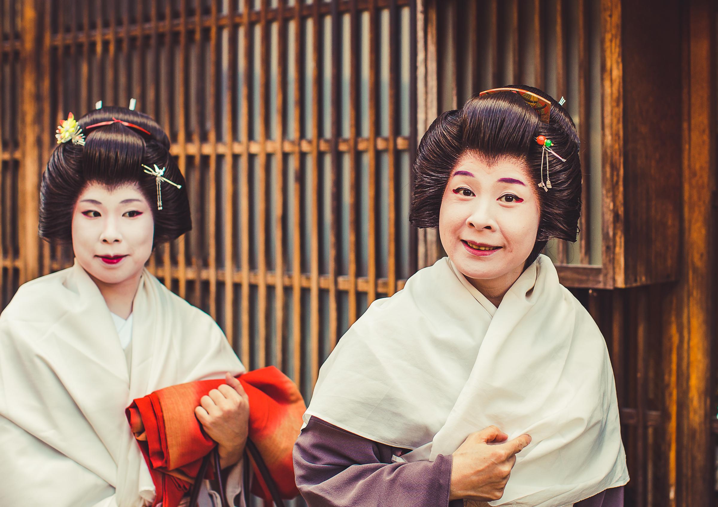 Geisha in Kanazawa
