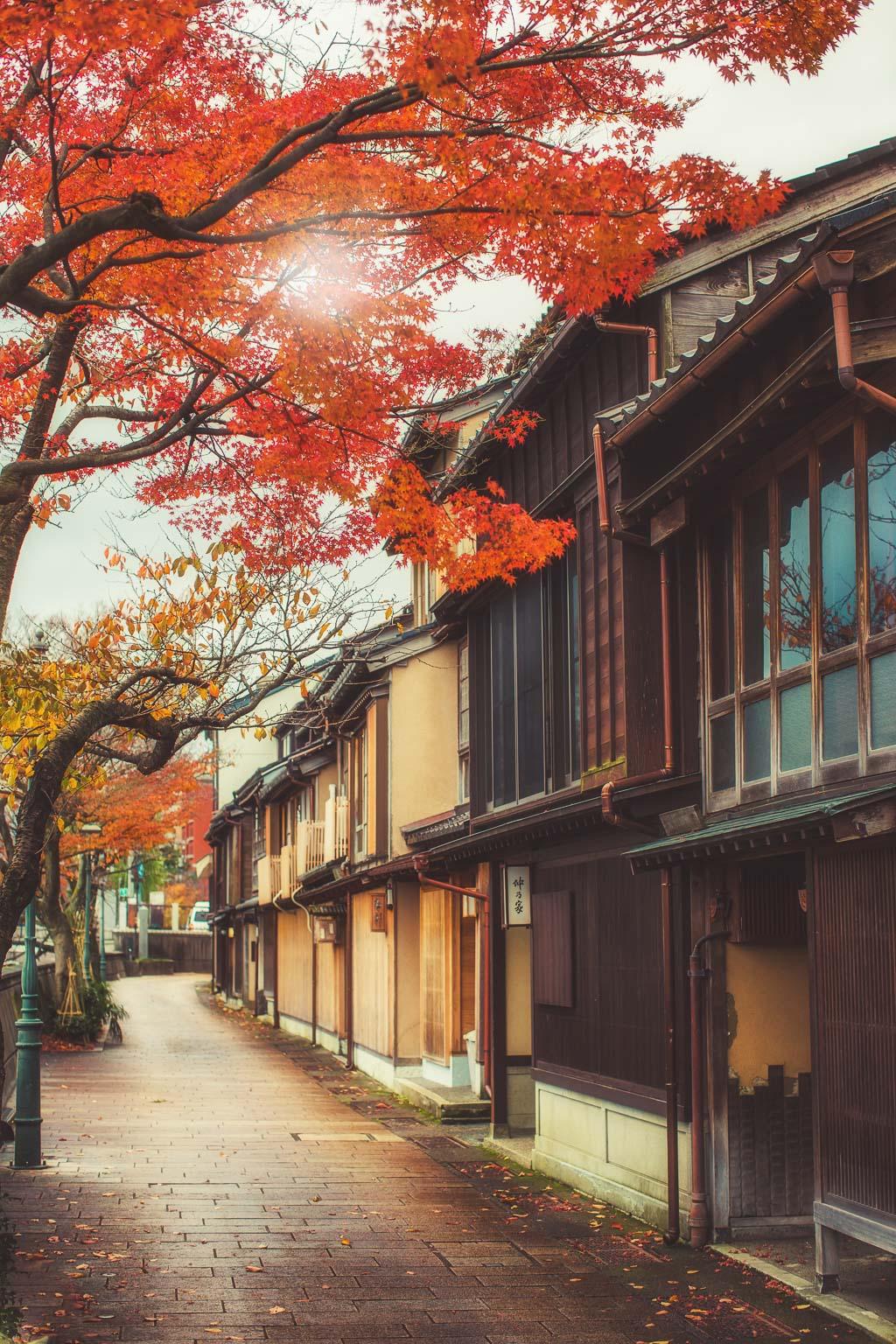 Kanazawa Tea District