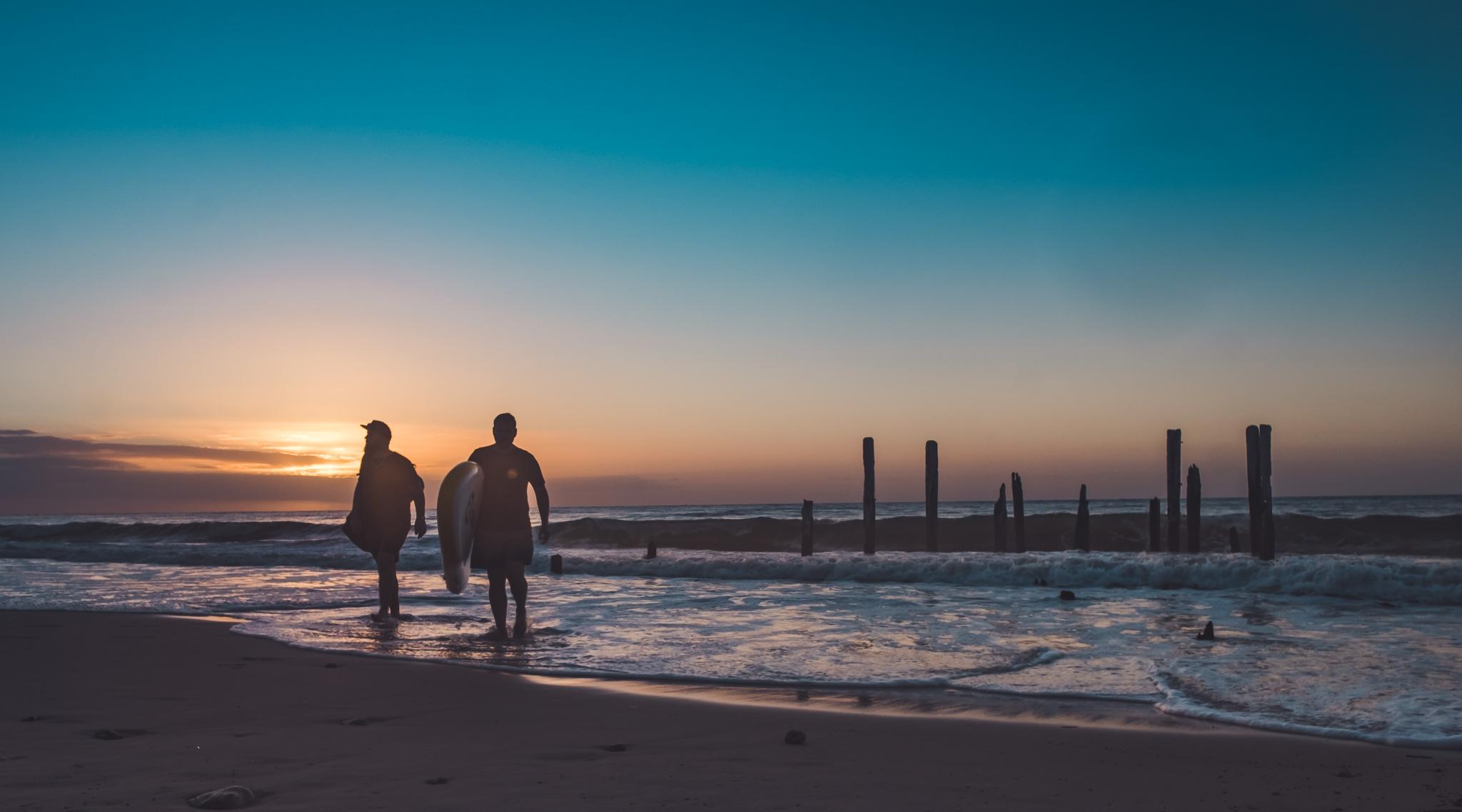 Port Willunga Sunset  21mm Lens F11 @ 1/60 Shutter Speed on ISO 80.