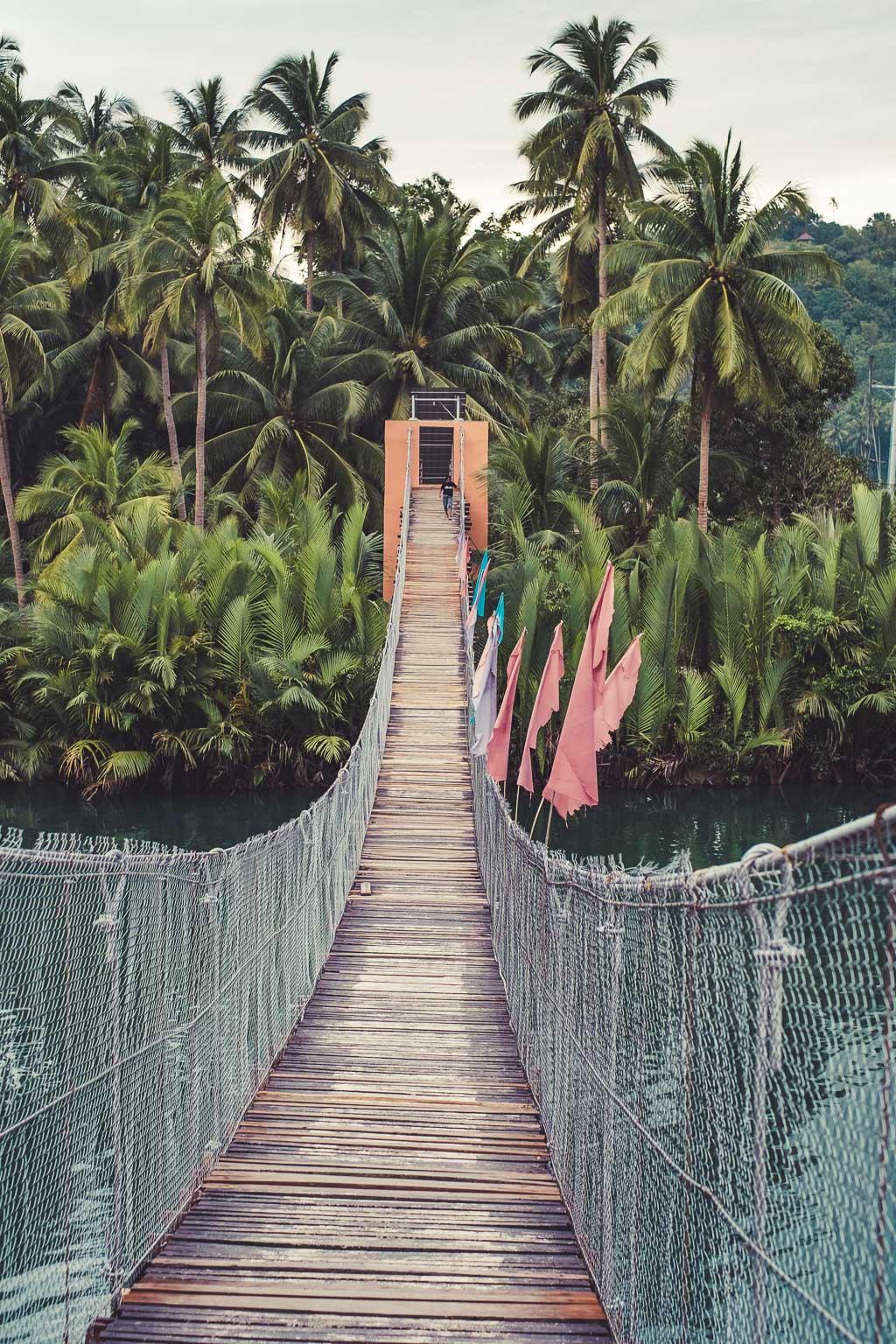Loboc River footbridge