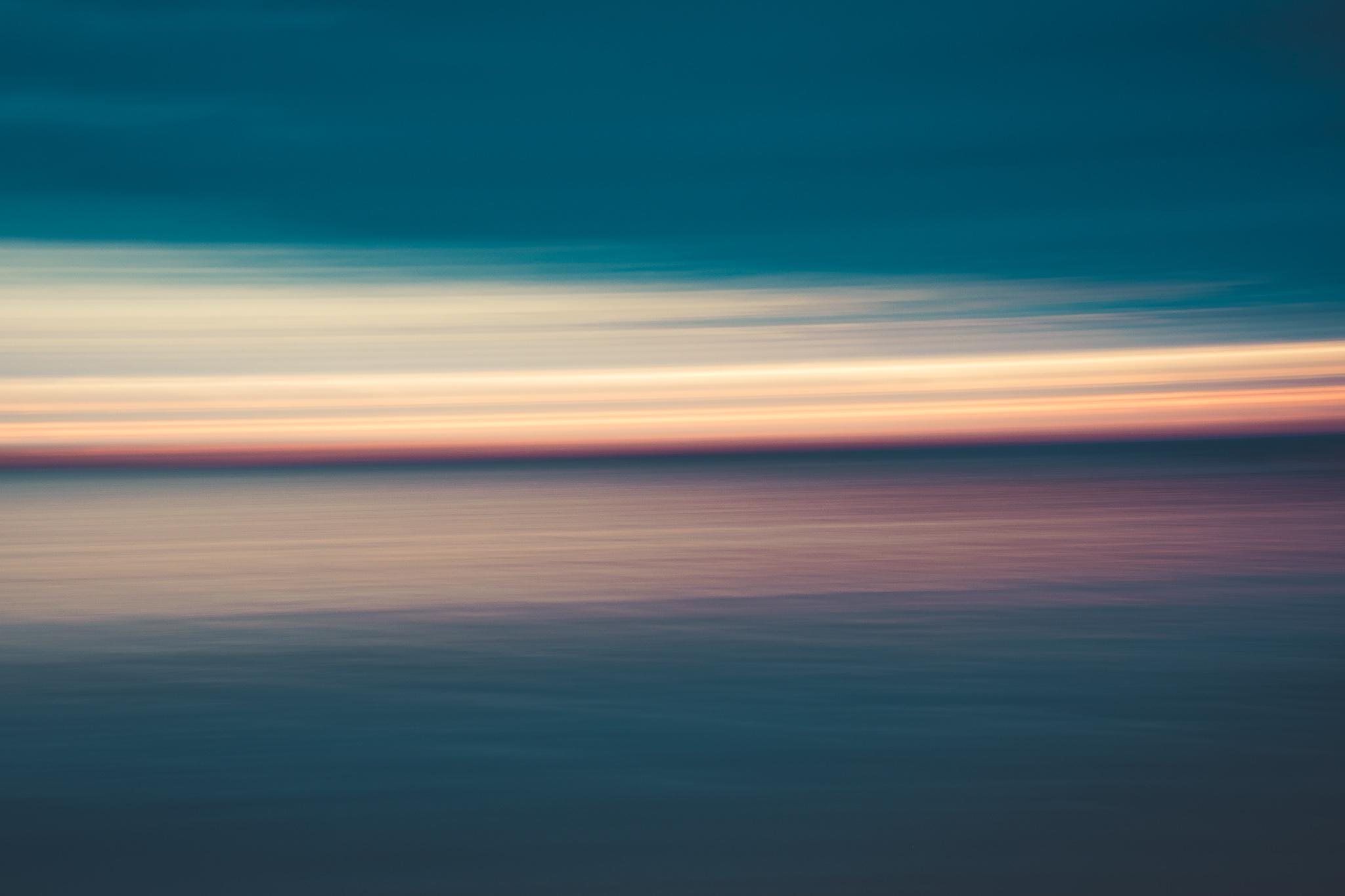Motion Blur Effect - Sunrise at Paliton Beach