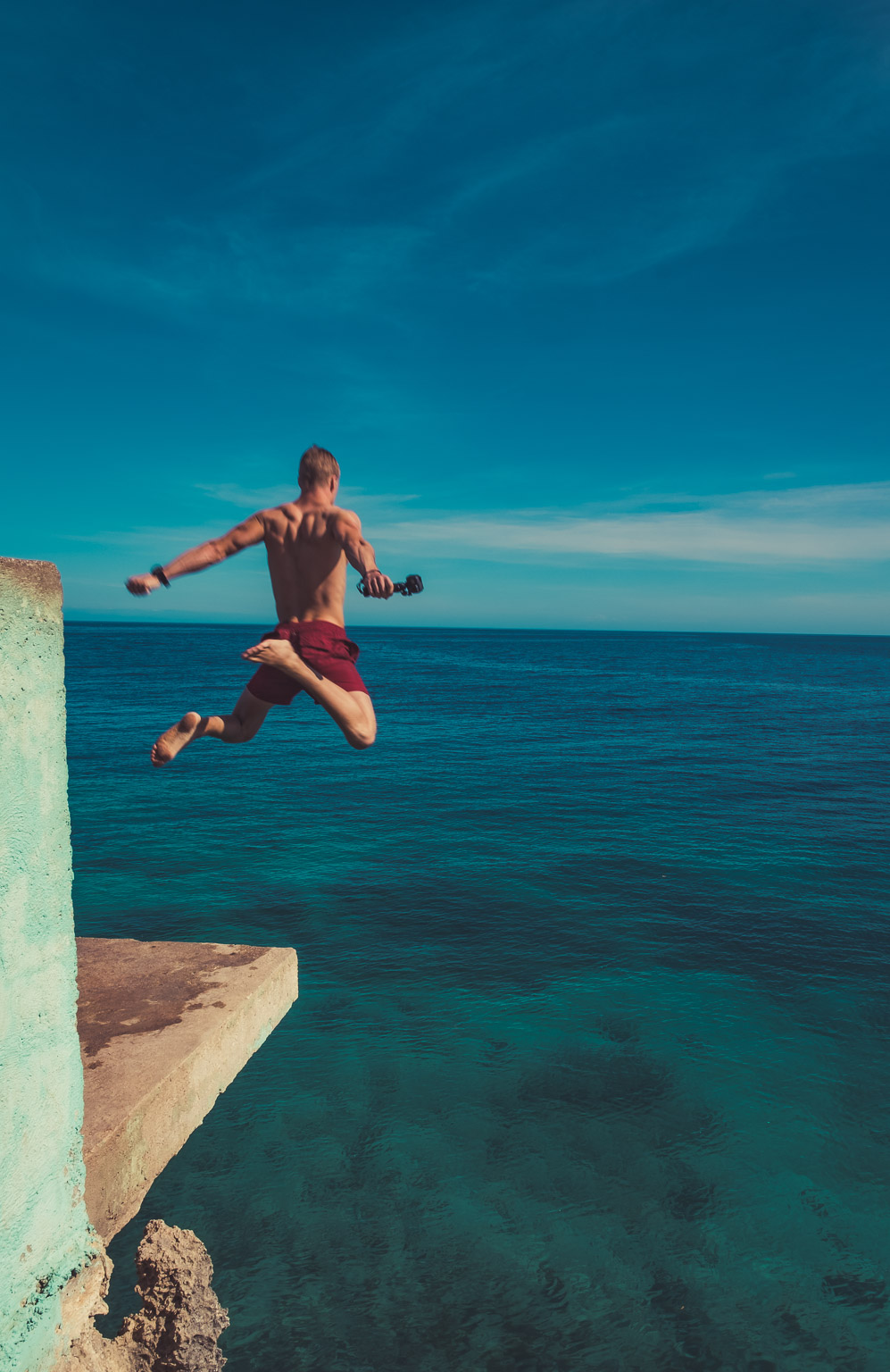 Salagdoong Beach Cliff Jump