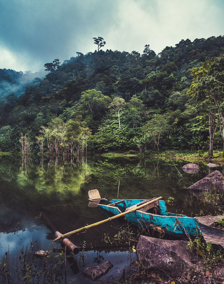 Balinsasayao Pond before Twin Lakes.