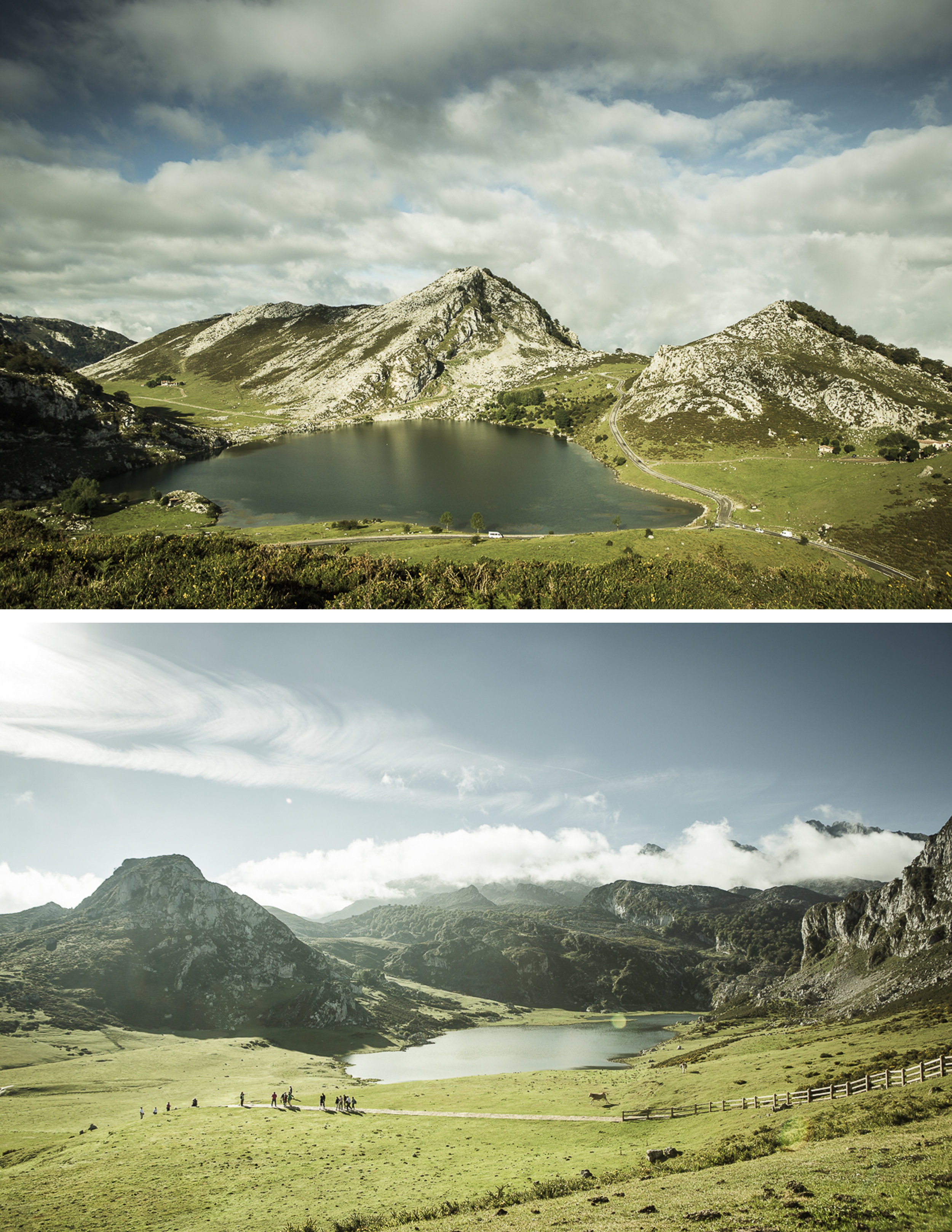 Lagos De Covadonga, Peaks Of Europe National Park