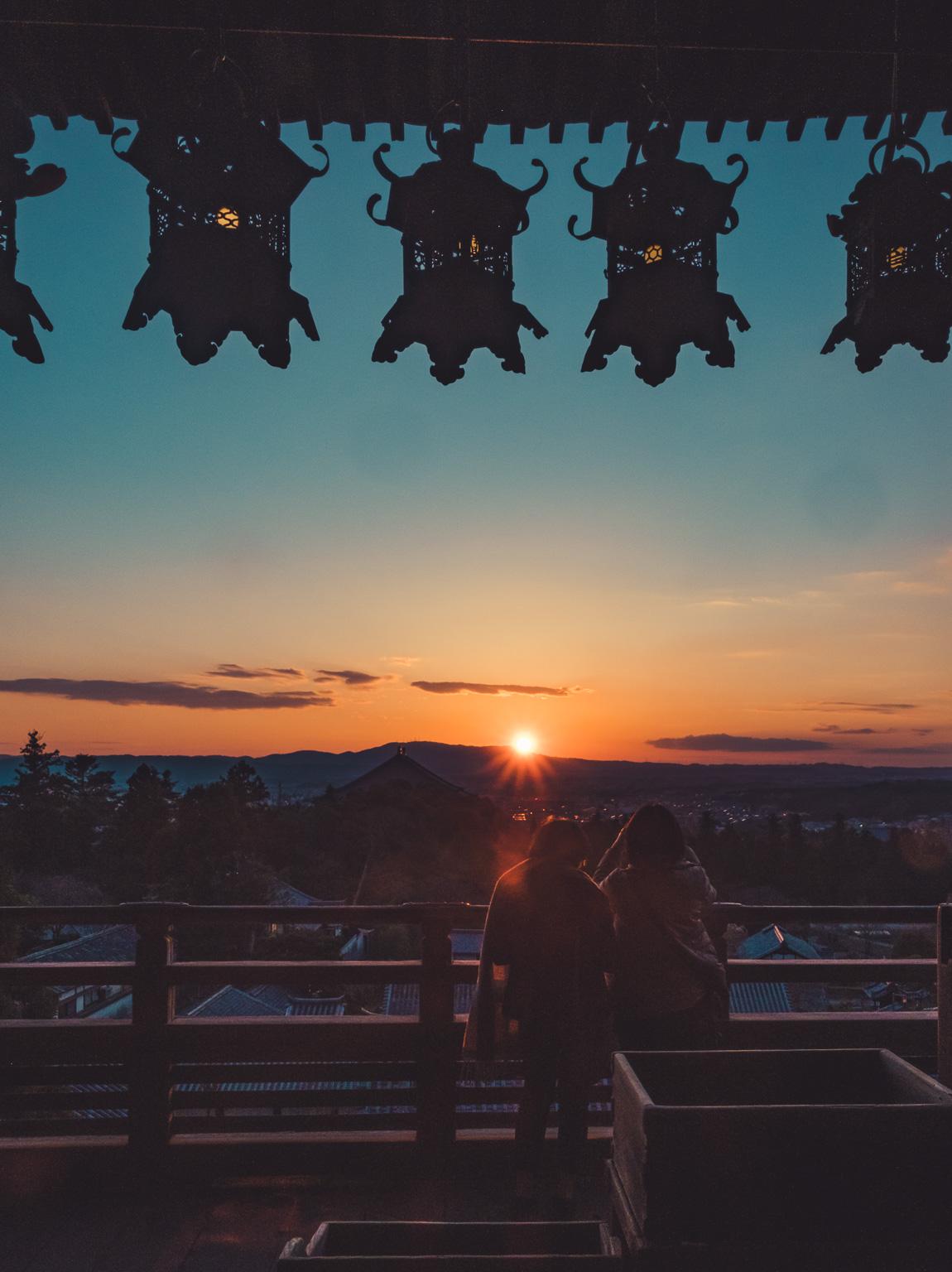 Nigatsudo Sunset