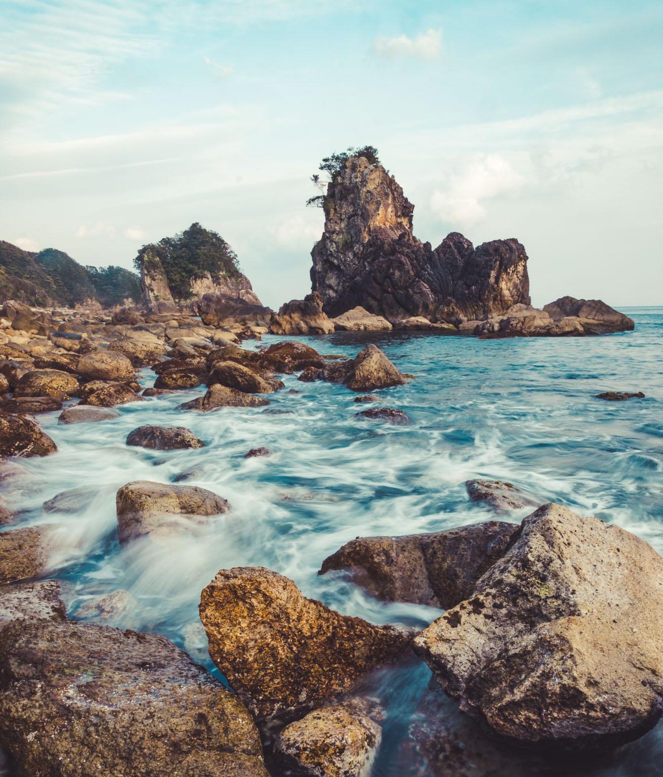 Kii Katsuura Seascapes