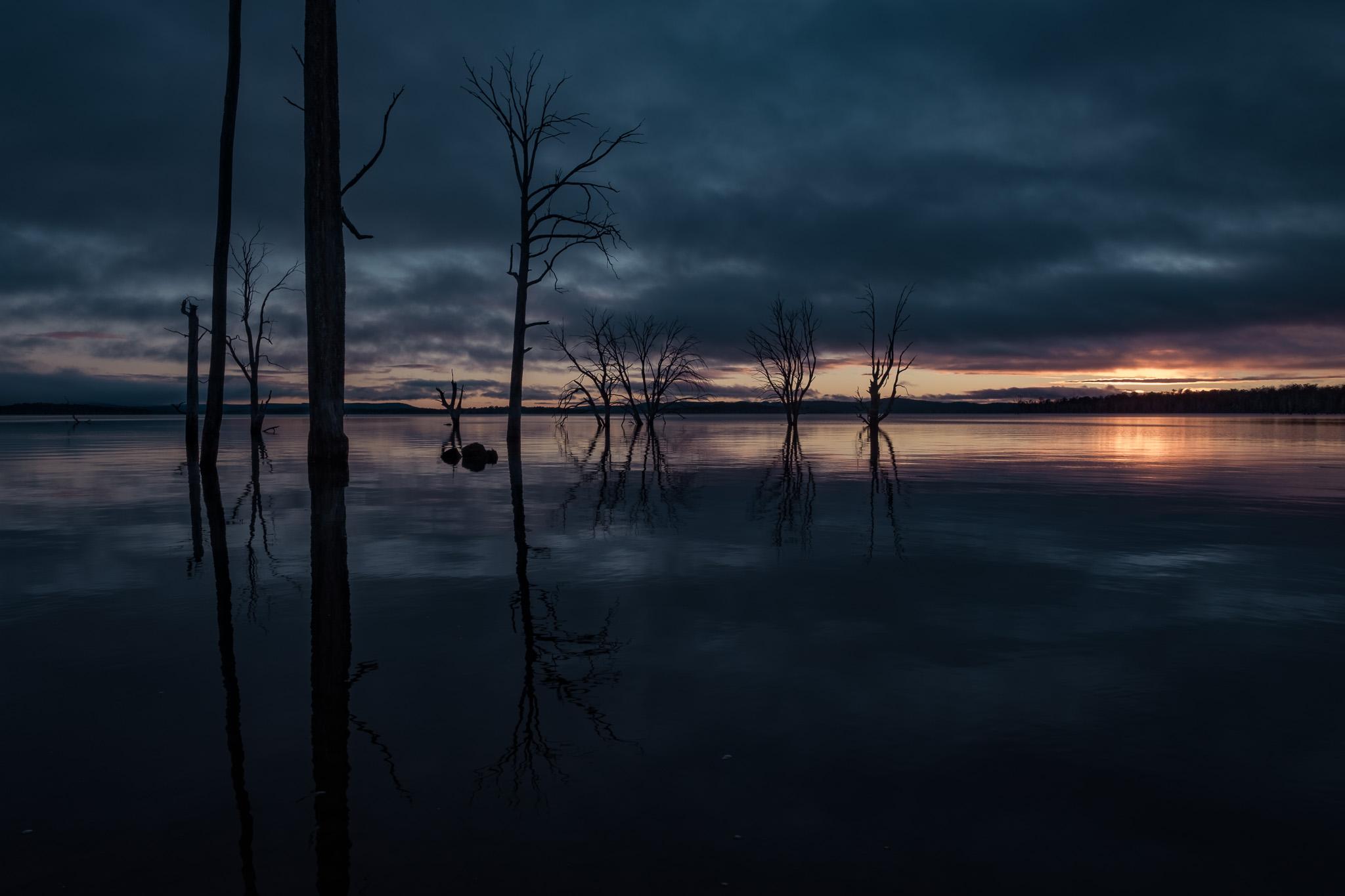 Arthurs Lake Sunrise