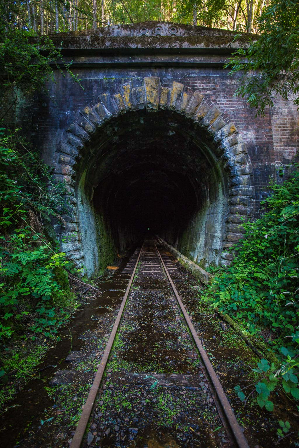 Tunnel in the hamlet of Tunnel.