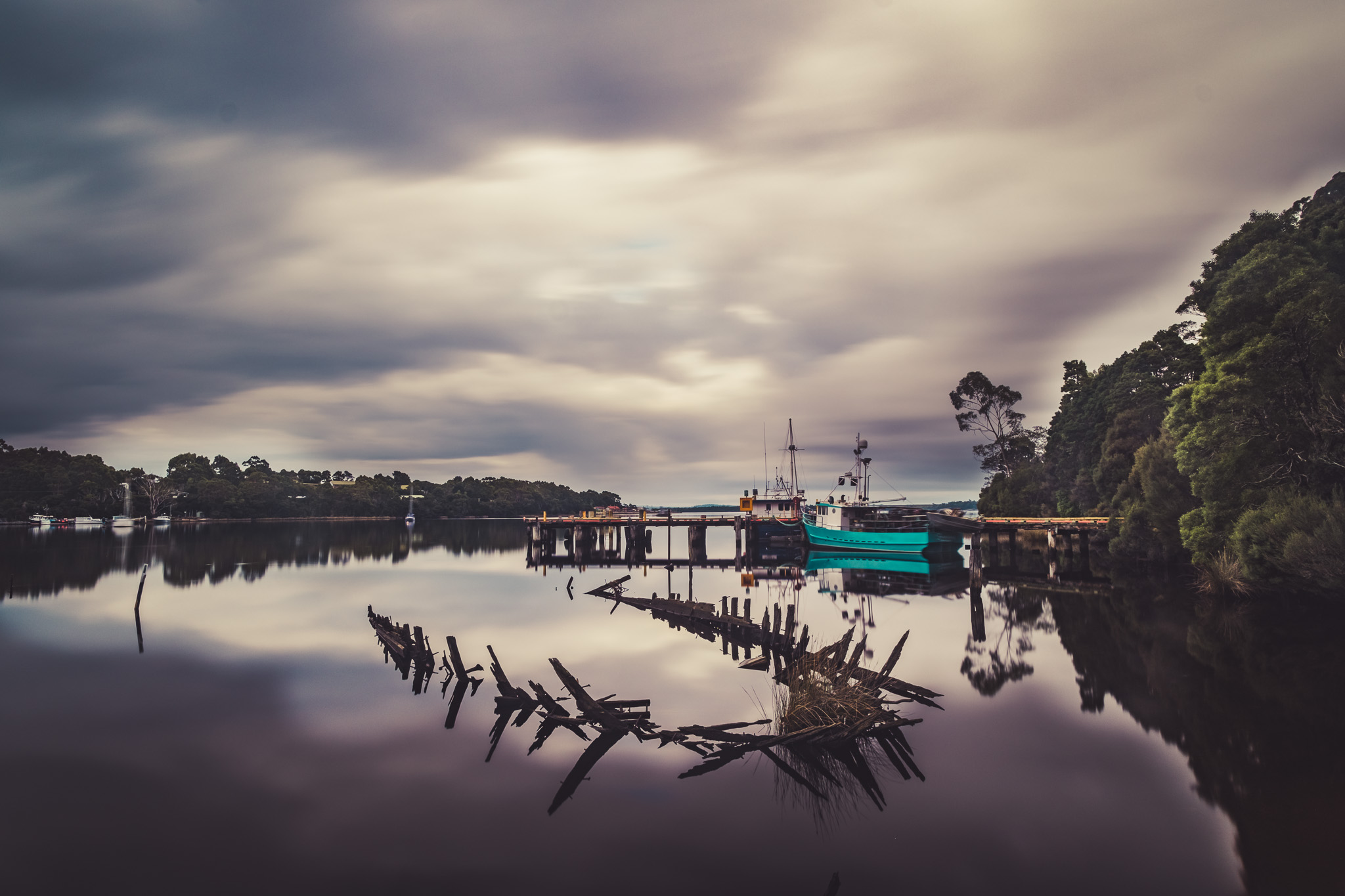 Skeleton Shipwreck in Strahan