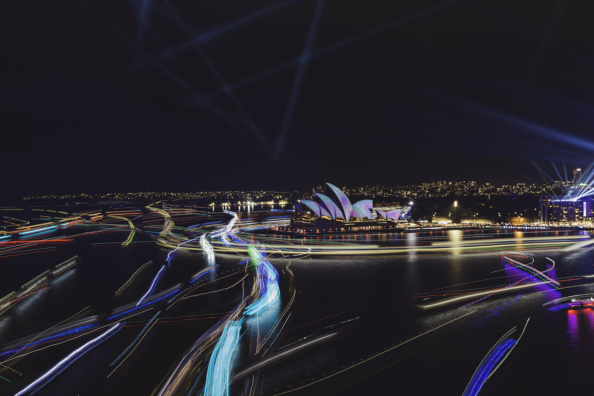 2019 Vivid Festival - Image by Maggie Hong
