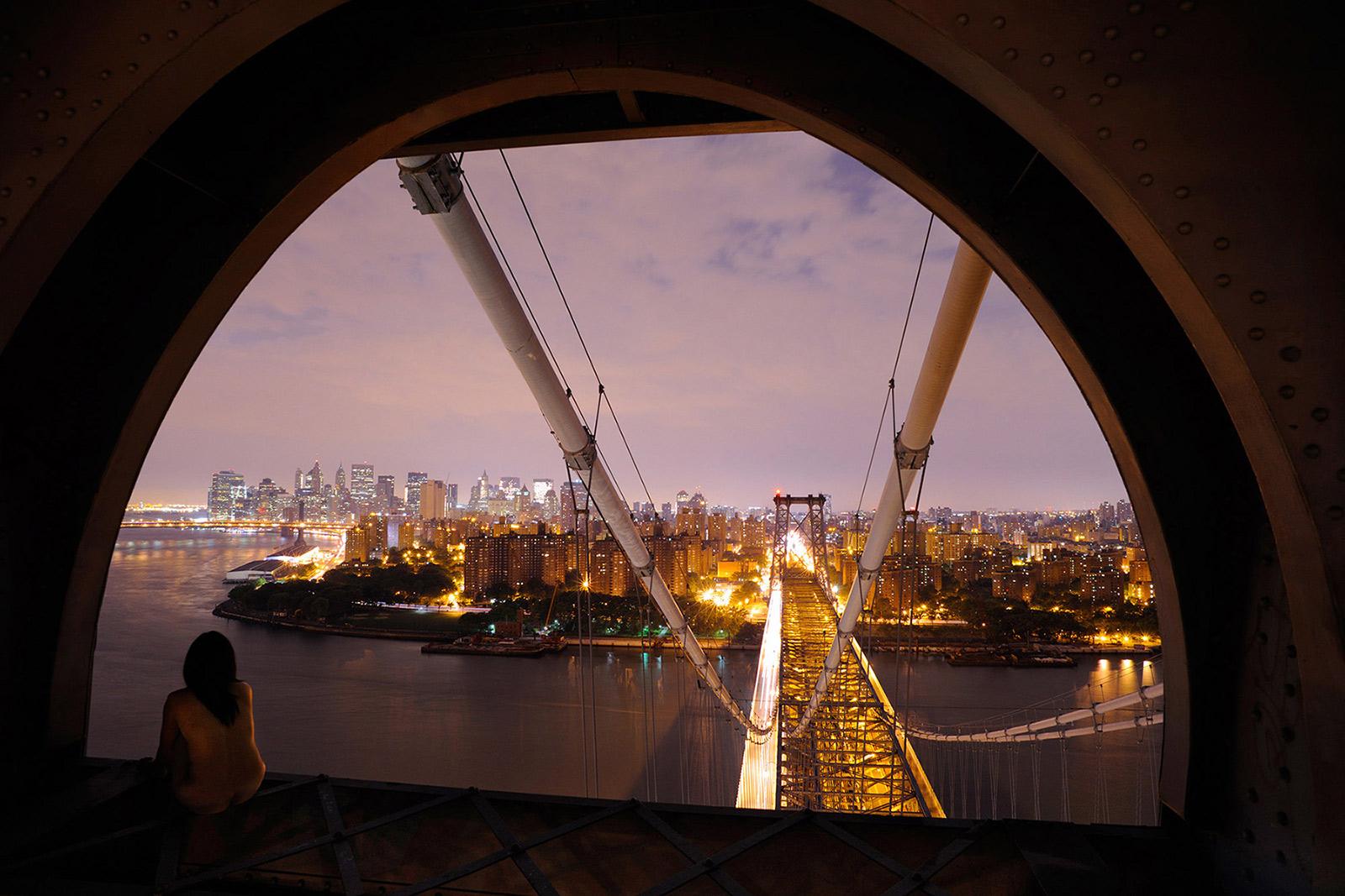 Williamsburg Bridge, New York, NY, USA